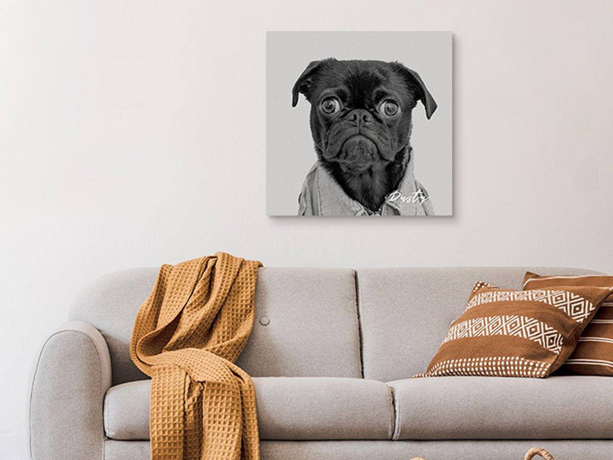 Canvas Printed Pet Portrait