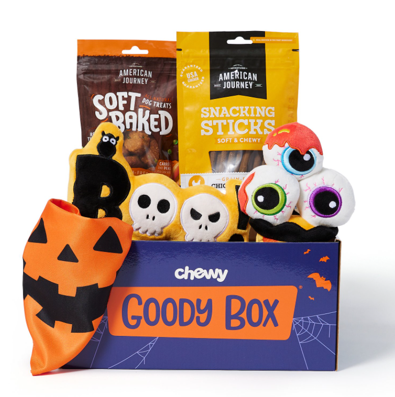 Chewy Halloween Goody Box for Dogs